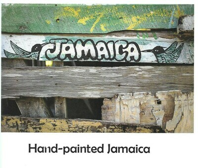 Hand-painted Jamaica Limited Edition Zine