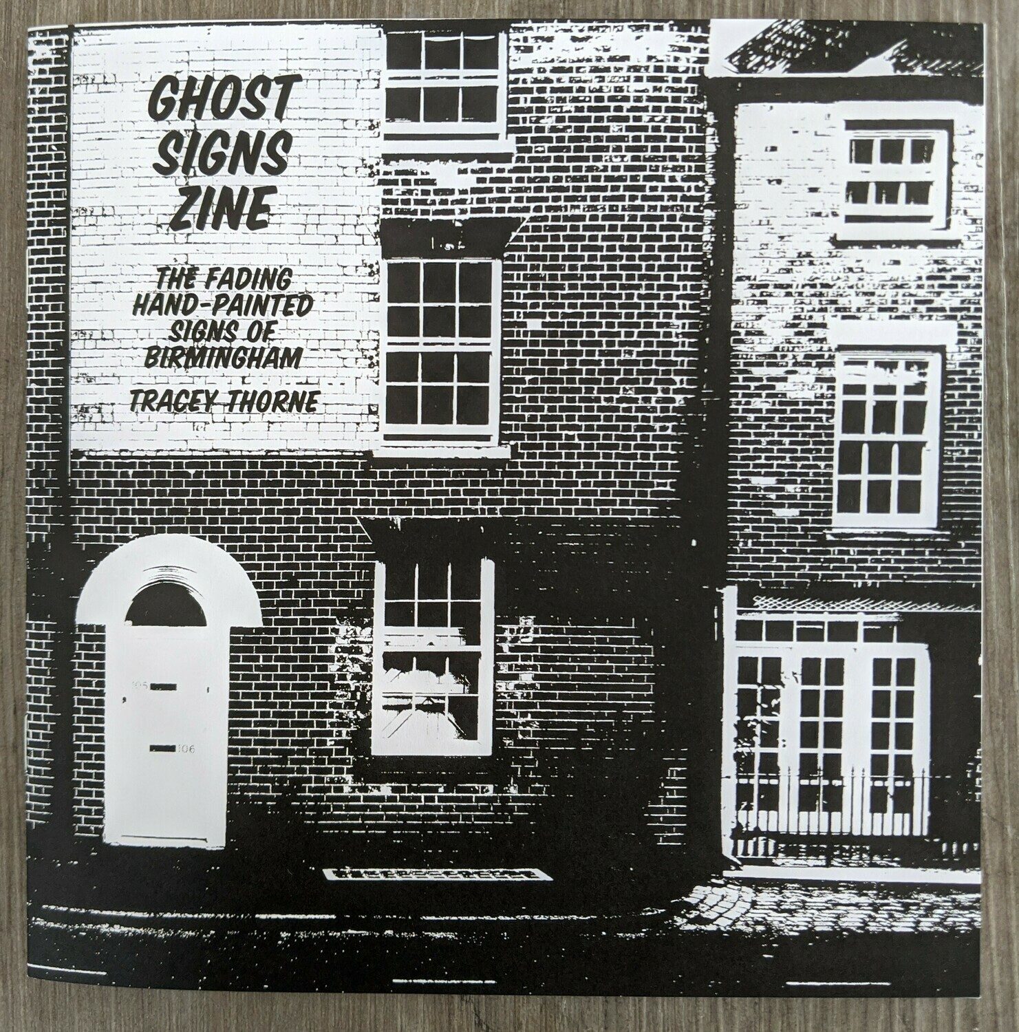 Ghost Signs Zine