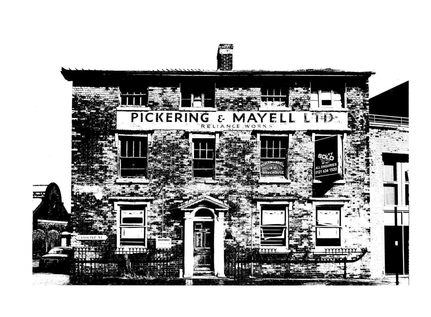 Pickering & Mayell LTD Ghost Sign