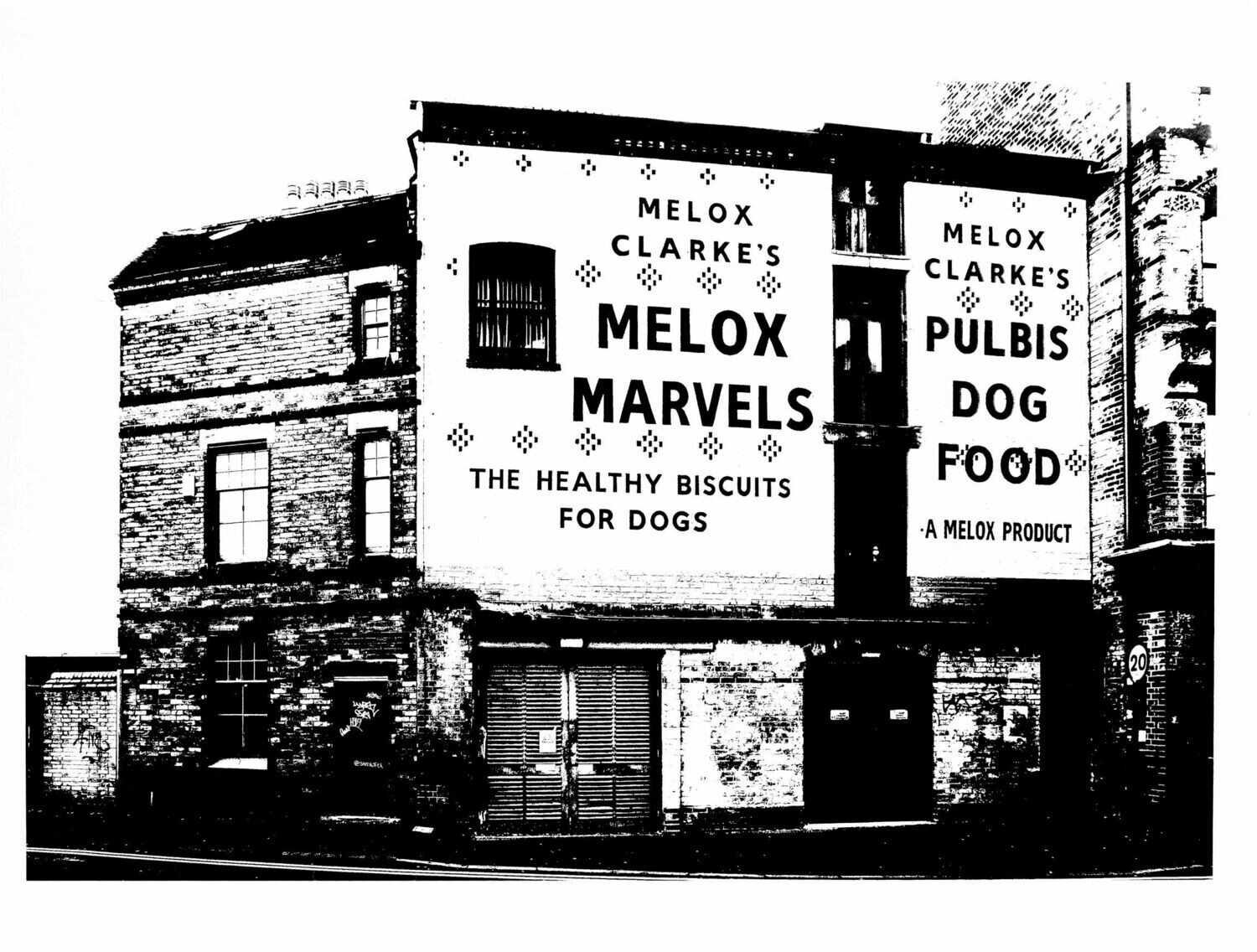 Clarke's Melox Marvels Ghost Sign