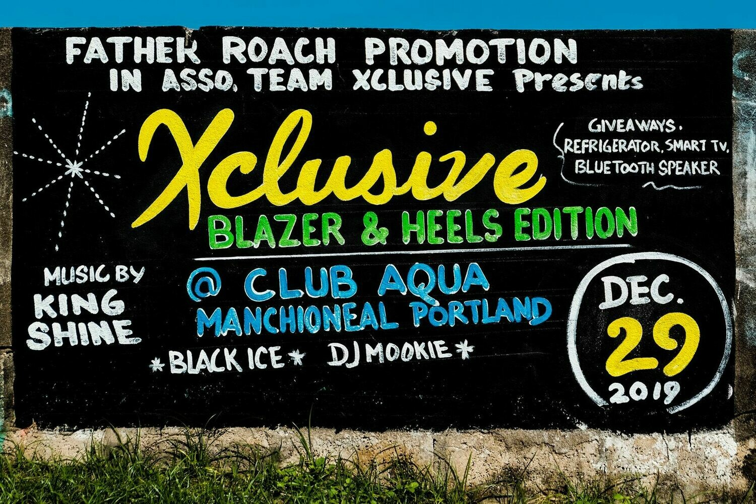 Xclusive Dancehall Sign