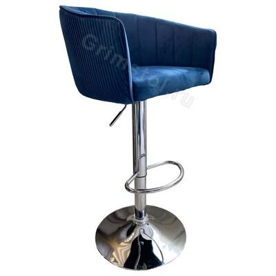 Барный стул велюровый СБ4С