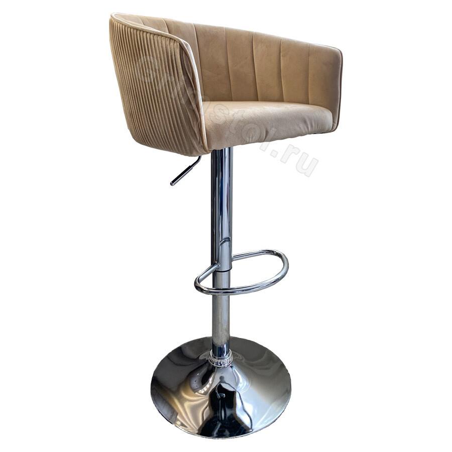 Барный стул велюровый СБ4П