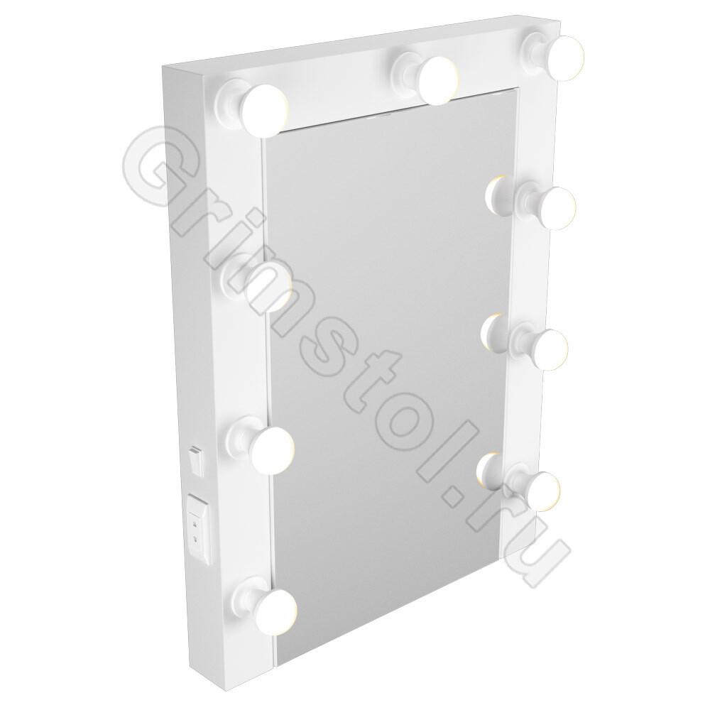 Рамное зеркало с лампочками 60Р
