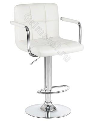 Барный стул на ножке белый СБ1Б