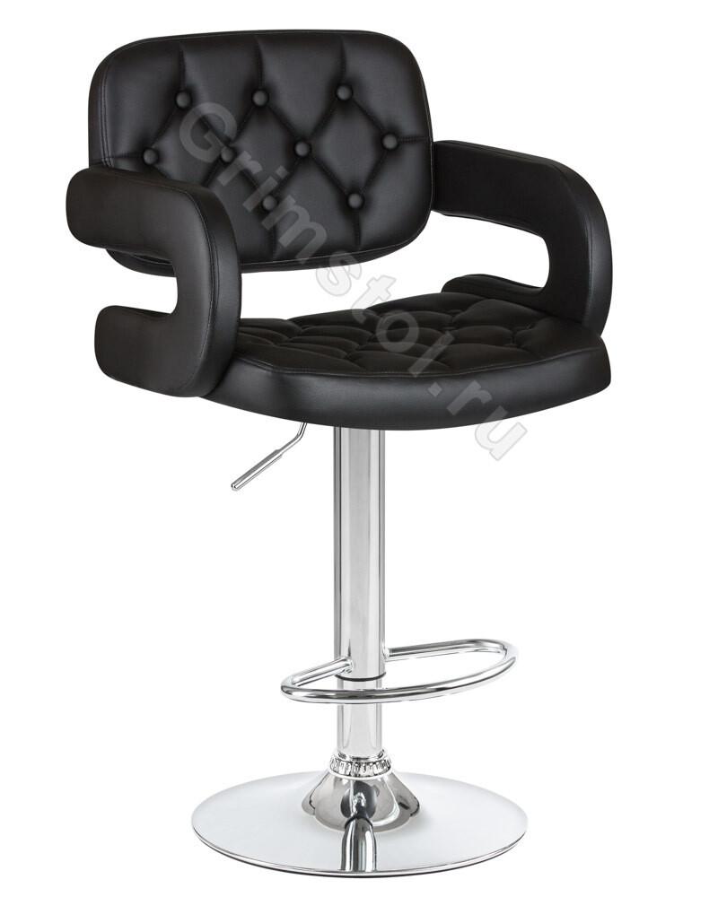 Барный стул на ножке чёрный СБ2Ч