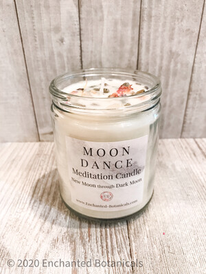 MOON DANCE Meditation Candle
