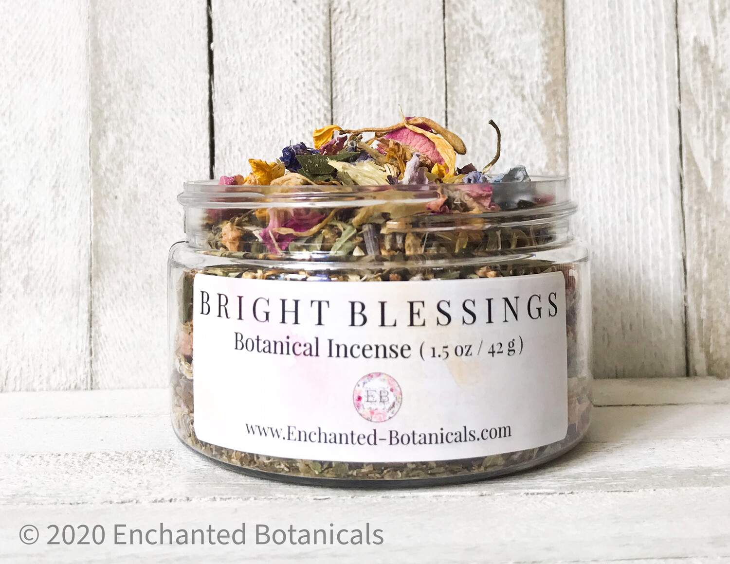 BRIGHT BLESSINGS Botanical Incense