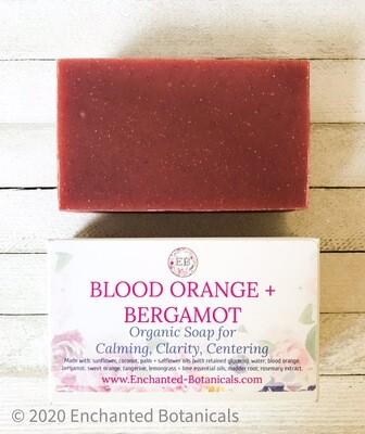 SOAP (organic), Blood Orange + Bergamot