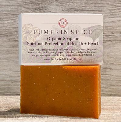SOAP (organic), Pumpkin Spice