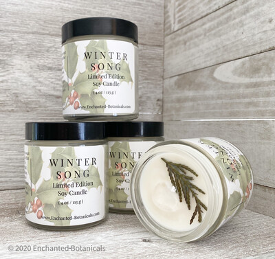 WINTER SONG Limited Edition Soy Candle