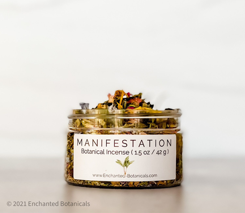MANIFESTATION Botanical Incense