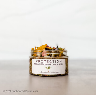PROTECTION Botanical Incense