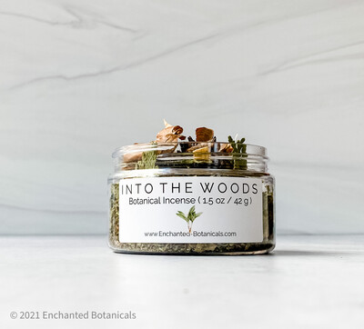 INTO THE WOODS Botanical Incense