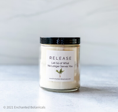 RELEASE Meditation Candle