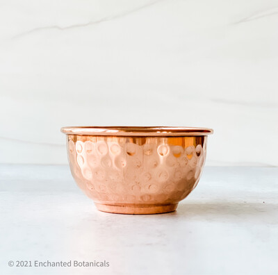 "COPPER OFFERING BOWL 3"" (smudge, incense)"