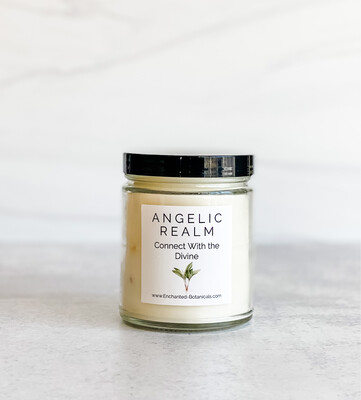 ANGELIC REALM Meditation Candle