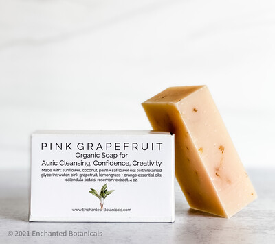 SOAP (organic), Pink Grapefruit