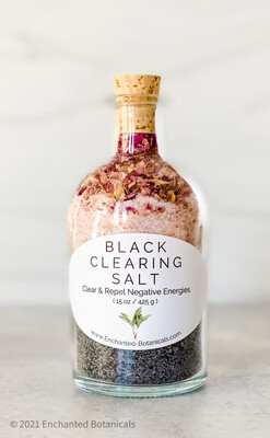 BLACK CLEARING SALT (15 oz)