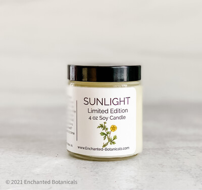 SUNLIGHT Limited Edition Soy Candle