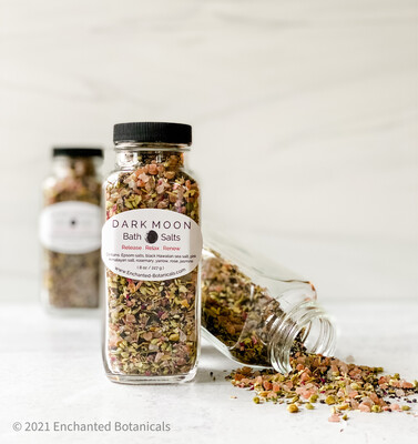 DARK MOON Detox Bath Salts