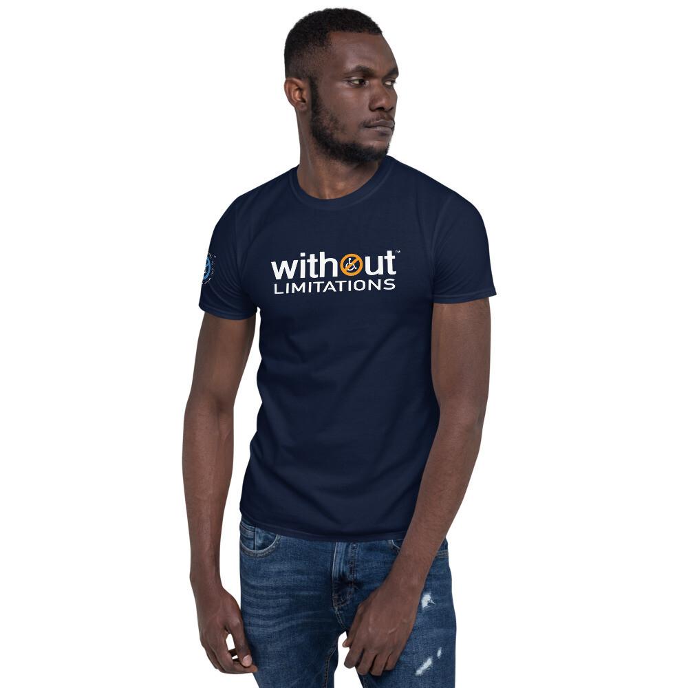 Exploring Without Limitations Short-Sleeve Unisex T-Shirt