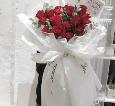19 Red Rose Bouquet