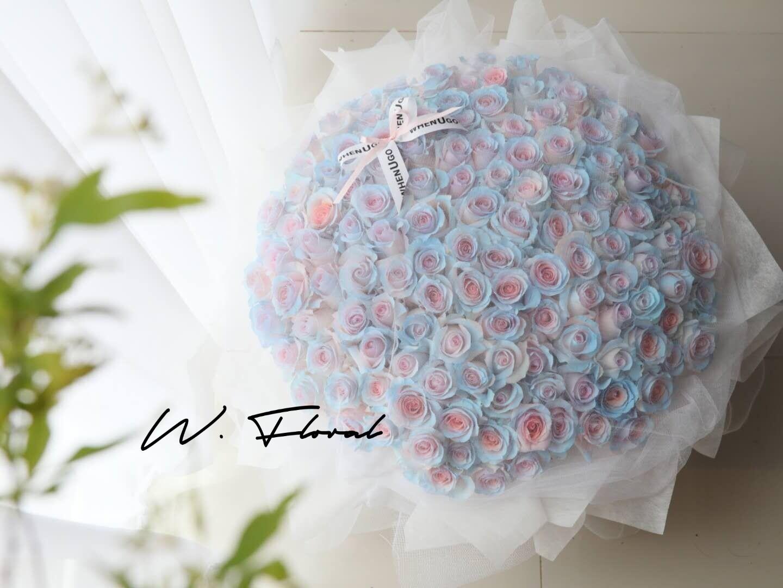 White Chiffon Fairy Roses