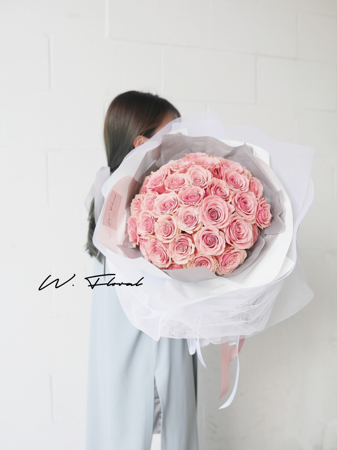 36 Pink Rose Bouquet