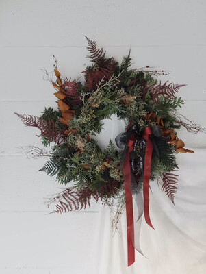 The Haven Pine Wreath