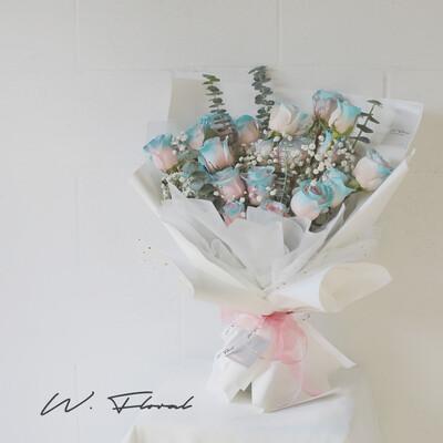 19 Fairy Rose Bouquet