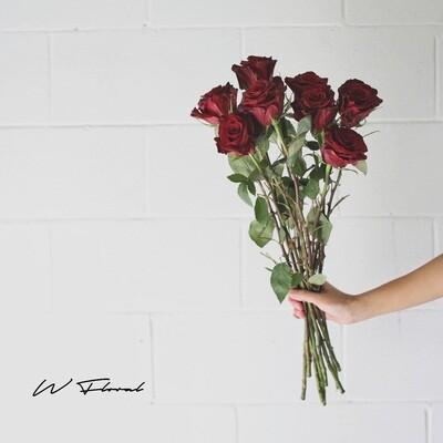 Bunch of Red Roses - Red Velvet