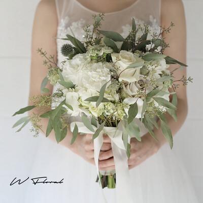 Garden Whimsy Round Bridal Bouquet