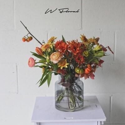 W Signature Vase Arrangement
