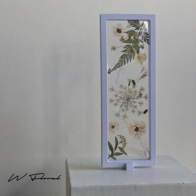 Dried Pressed Flower Frame Display