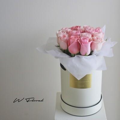 Pink Rose Hug