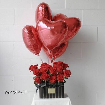 Pandora Hug Red