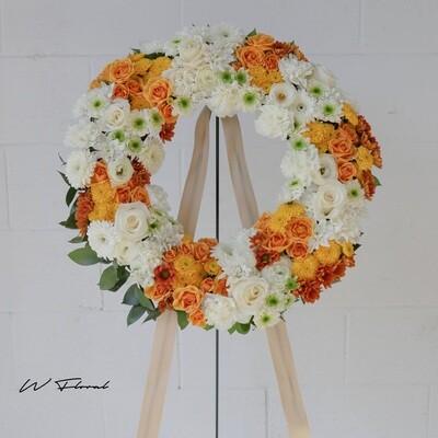Solemn Gold Wreath