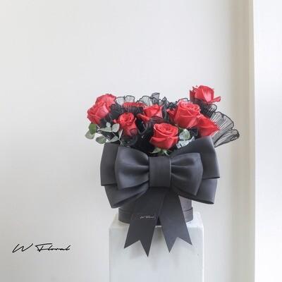 Rosette Mini Red Rose