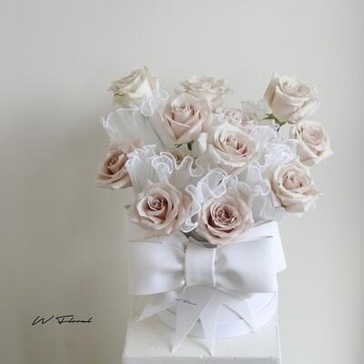 Rosette Mini Quicksand Rose