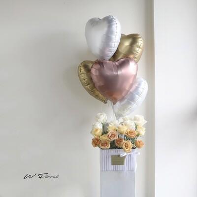 Pandora Hug Ombre Rose