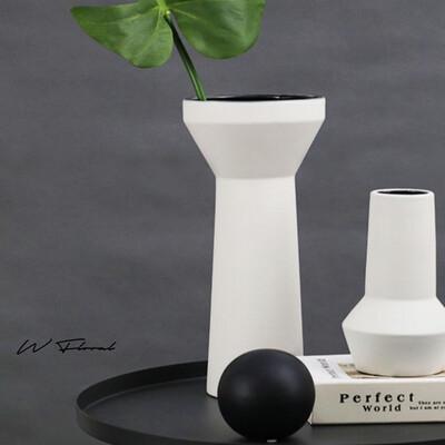 Torch Vase White