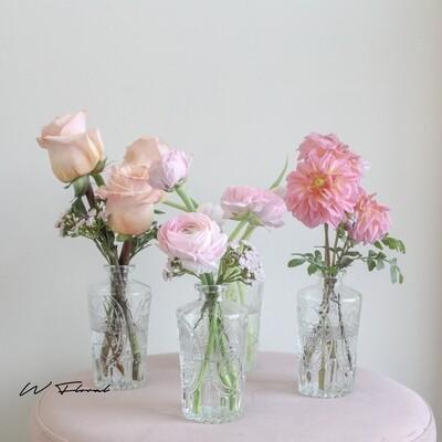 Minimalistic Trio Vase Combo Set
