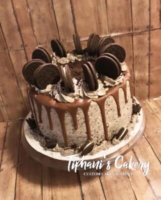 Cookies & Cream Drip Cake