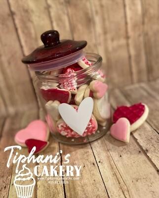 Jar Of Mini Cookies
