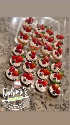 Triple Berry Cupcakes