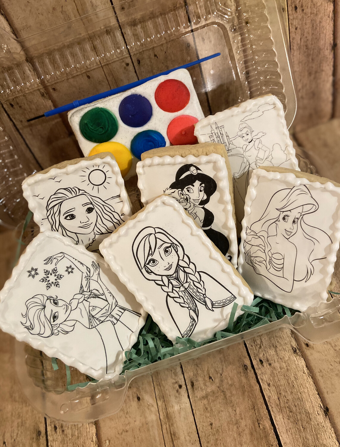 Coloring Page Cookies (Select amount for pricing)