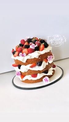 Layered Berry Cake