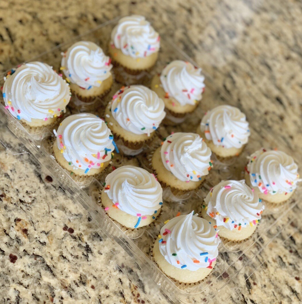 Rainbow Sprinkle Cupcakes(12 Count)