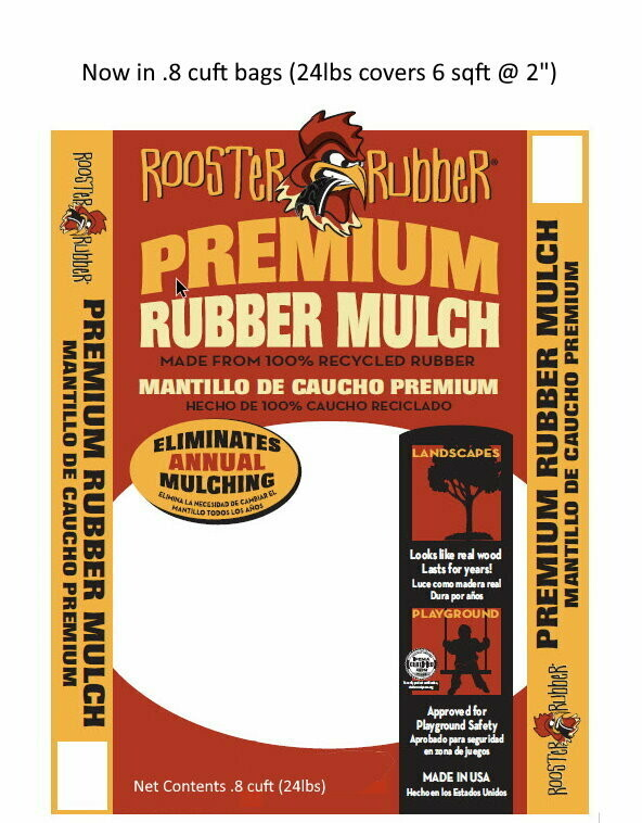Premium Rubber Nuggets for Play Areas and Landscapes